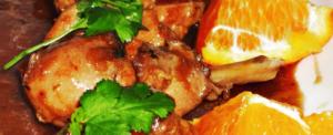 frango com laranja e alecrim
