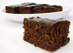 Receita de bolo de chocolate fofo