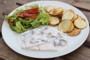 Receitas Vegetarianas - Aprenda com esta Receita a fazer Tofu com Natas e Cogumelos