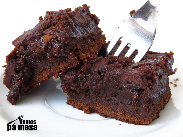 Brownies de Chocolate e Alfarroba