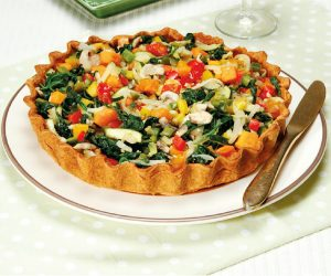 Receita de Tarte de Legumes Salteados